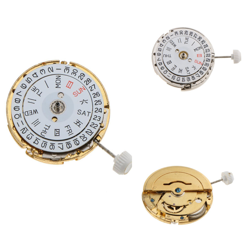 New Mechanical Automatic Watch Movement Repair Replacement Part For Miyota 8205 Silver Gold For Watchman