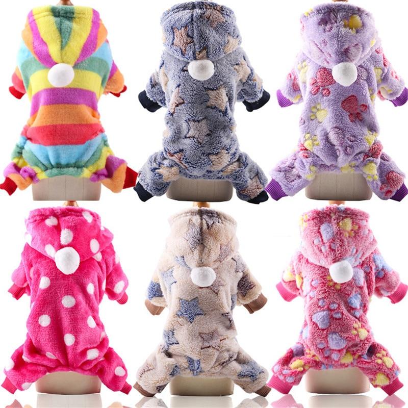 Одежда для собак, зимняя теплая одежда для домашних животных, детская одежда для щенков, толстовки для маленьких и средних собак, одежда для ...