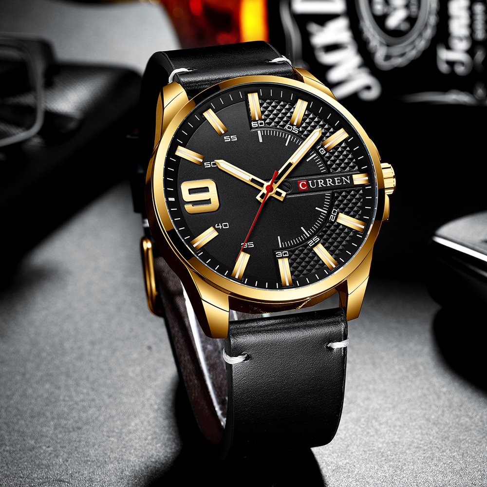 H1cc63a9e504947f9a92ef6a13bf7ff81i Top Brand Luxury Business Watch Men CURREN Watches