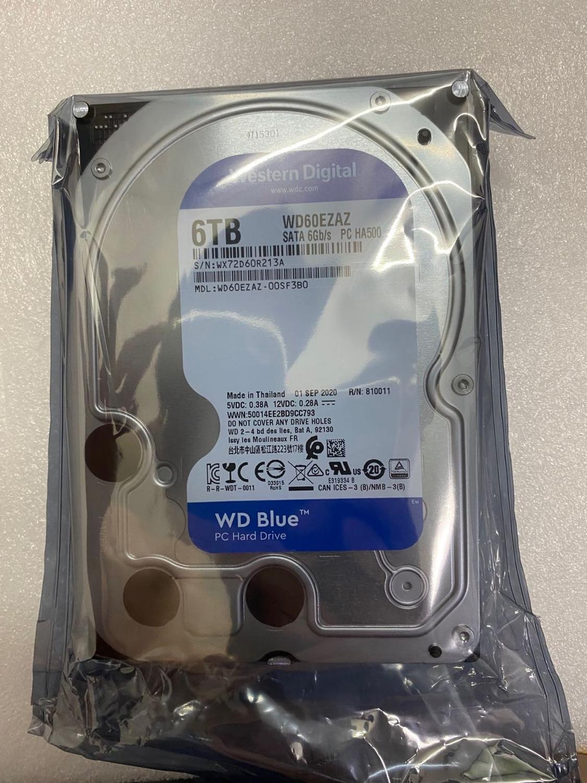 Novo western digital 4tb 6tb desktop disco rígido/suporte gravador de vídeo/novo disco rígido produzido em 2020/não de segunda mão disco rígido