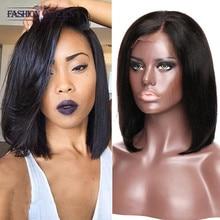 Malaysian Human Hair Wigs For Black Women Bob Lace