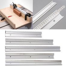 Scale-Gauge Table-Saw Miter Track Woodworking-Tool Workbench 45-Type with DIY