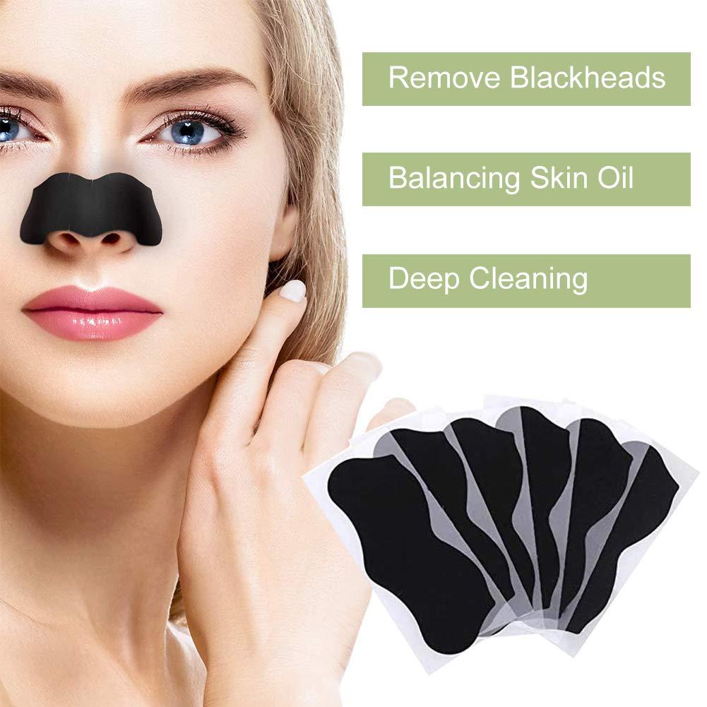 10-50 шт. Нос Маска для удаления угрей глубокое очищение кожи уход сжимает поры, акне маска для ухода за кожей носа черных точек с вибрациями, ч...