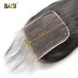 Image 4 - BAISI Lockige Bob Perücke 13x6 Spitze Vorne Perücke Brasilianische Menschliches Haar mit Natürlichen Haaransatz Baby Haar Hohe Dichte perücken für Schwarze Frauen