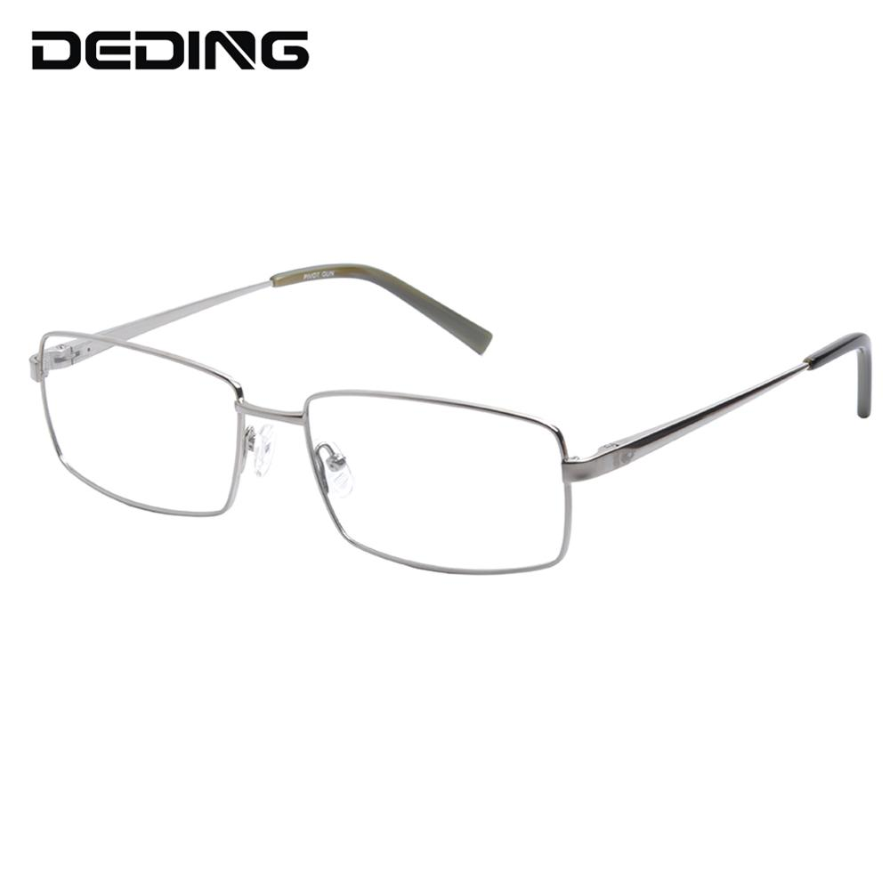 60MM Pure Titanium Glasses Frame Big Head Men's Rectangle Eyeglasses Oversized Spectacle Frames Optical Eyewear DD1525