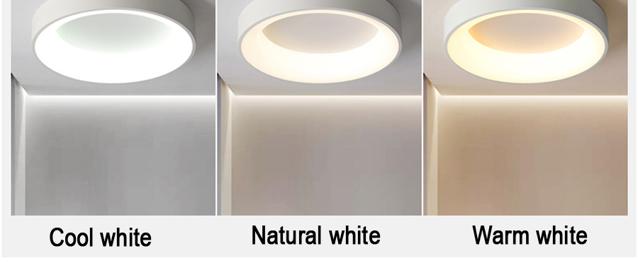 H1cc7238460314da19bb01074663edec58 Round Modern Led Ceiling Lights For Living Room Bedroom Study Room Dimmable+RC Ceiling Lamp Fixtures