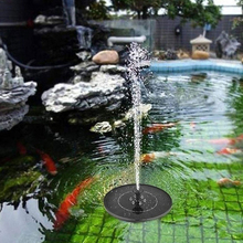 цена на 9V Solar Fountain Watering Kit Power Solar Pump Pool Pond Submersible Waterfall Floating Solar Panel Water Fountain For Garden