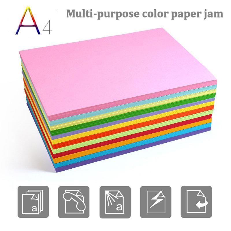 a4 100 pces impressora colorida papel handwork 01