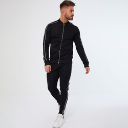 Mannen Gymsnew Mannen Herfst Hoodies Trainingspak Set Mannelijke Sweatshirt Joggingbroek Multi-Pocket Mode Broek High Street Jassen Sets