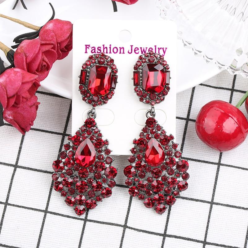 Glass Teardrop Earrings You Pick Color Earrings Dangling Earrings Long Teardrop Earrings Bridesmaids Gift Bronze Drop Glass Earrings Water