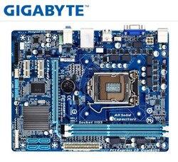 Desktop Motherboard GIGABYTE GA-H61M-DS2 PC H61 Socket LGA 1155 i3 i5 i7 DDR3 16G uATX UEFI H61M-DS2  Mainboard