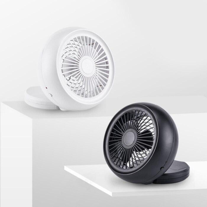 Mini Snail Fan USB Battery Power Supply Low Noise Adjustable Angle Desktop Fan Super Summer Air Cooling Fan Ventilator