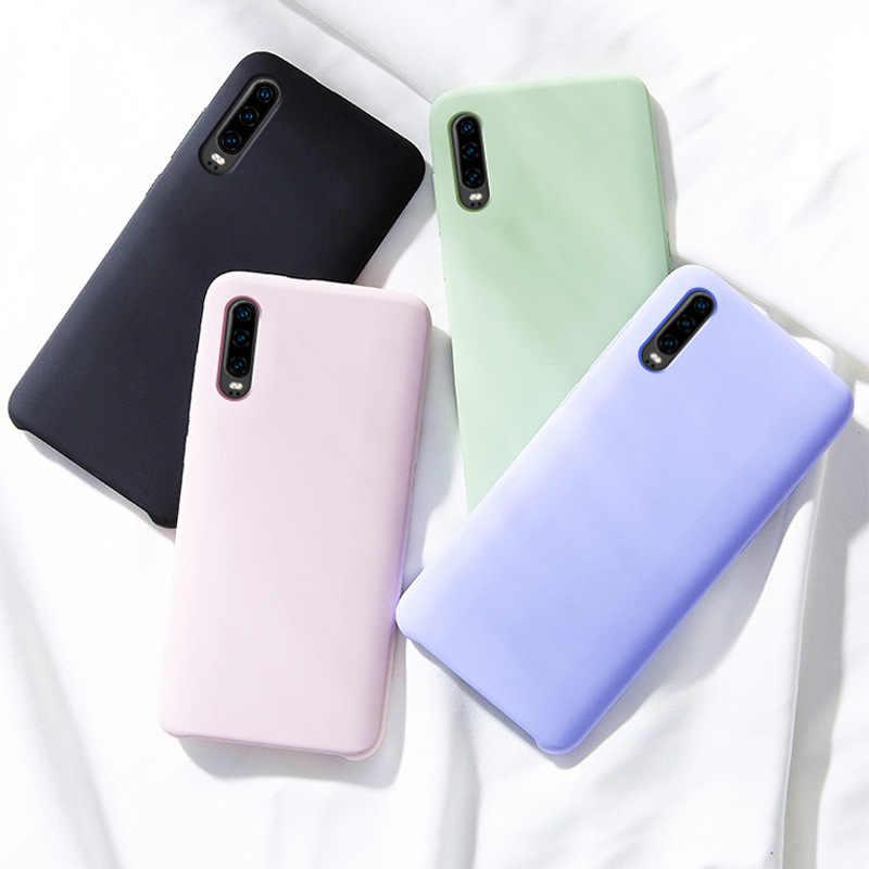 Thời Trang Silicone Mềm Dành Cho Samsung Galaxy Samsung Galaxy Note 10 Pro A10 A20 A30 A40 A50 A60 A70 2019 S8 S9 s10 Plus S10e Ốp Lưng Slim Cover