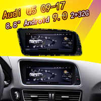 8.8 inch touch screen Android 9.0 For Audi Q5 2009-2017 Car GPS Navigation multimedia Player Radio stereo WIFI Bluetooth 2+32G