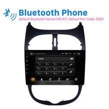 Seicane Android 8,1 2DIN автомобиля головное устройство с радио аудио GPS; Мультимедийный проигрыватель для peugeot 206 2000 2001 2002 2003 2004 2005 2006