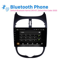 Seicane Android 8.1 2DIN Car Head Unit Radio Audio GPS Multimedia Player For Peugeot 206 2000 2001 2002 2003 2004 2005 2006 2016
