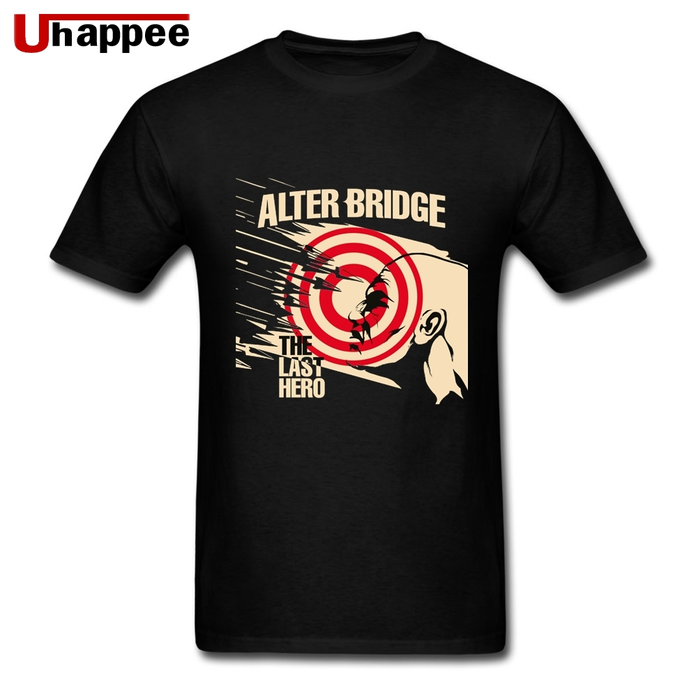 90s Funny Musical Band Alter Bridge The Last Hero TShirts Homme Luxury Short Sleeves Teenagers T Shirt Dropshipping Wholesalers image