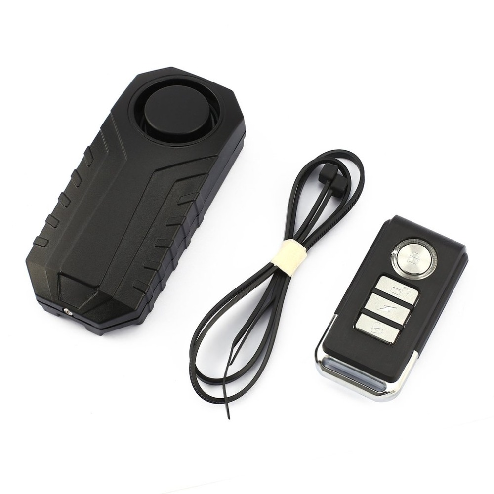 Alarm Vibration Safety-Lock Displacemnt-Alarm Remote-Control Bicycle/electric Wireless title=