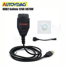 Galleto 1260 OBD2 Obdii ECU чип тюнинговый Инструмент OBD 2 EOBD 307SW автомобильный диагностический ECU флэш-инструмент 16 контактный интерфейс с несколькими языками