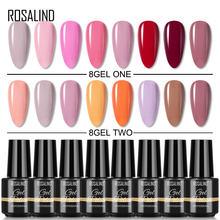 Набор гель лаков для ногтей rosalind набор полупостоянных УФ