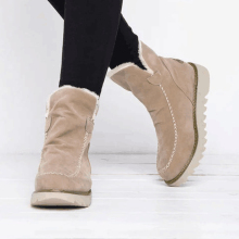 Indoor Large Size Warm Women Ankle Boots Winter Antiskid Platform Snow Cotton Shoes Casual And Comfortable Walking