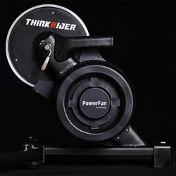 Thinkrider X7 3 Smart Bicicletta Trainer Del Basamento Indoor Mtb Della Bici Della Strada Telaio in Fibra di Carbaon Built-in Misuratore di Potenza Bici da Ginnastica