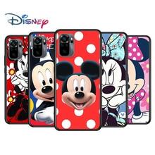 Mickey mouse dibujos animados para Xiaomi Redmi Nota 10 10 10 10S 9 9T 9S 9Pro Max 8T 8Pro 8 7 6 5 Pro 5A 4X 4 suave negro teléfono caso
