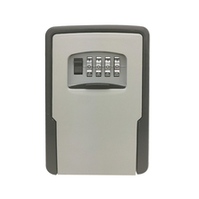 Sleutel Opslag Lock Box Wall Mounted Weerbestendig Key Lock Box Met 4 Digit Combinatie voor Lock Box Indoor Outdoor