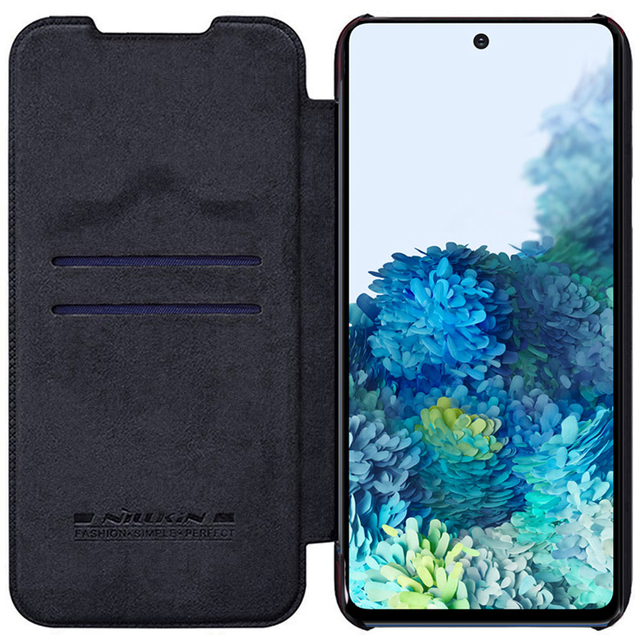 For Samsung Galaxy S20 FE case Nillkin Qin PU Luxury Flip leather back cover wallet case For Samsung S20 Fan Edition 5G