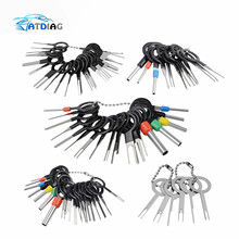 76pcs  Automotive Plug Terminal Remove Tool Set Key Pin Car Electrical Wire Crimp Connector Extractor Kit Accessories