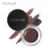Focallure 5 Colori Impermeabile Eyebrown Gel di Lunga Durata Tinta Occhi Crema Professionale di Trucco di Bellezza Estetica(China)