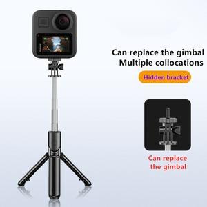 Image 2 - Mobile phone tripod portable bluetooth selfie stick for camera Foldable Mini smartphone selfie stick tripod photograph monopod