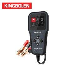 """Probador de batería BM520 para coche, Analizador de batería de 2,8 """", 6V, 12V, 24V, multímetro, carga de arranque, onda"""