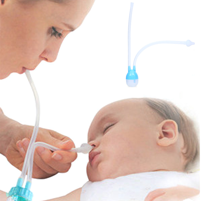 Baby Care Nasal Aspirator Silicone Baby Nose Clean Infant  Wash Baby Nose Nasal Infant Preventing Backflow Aspirator Baby Safety