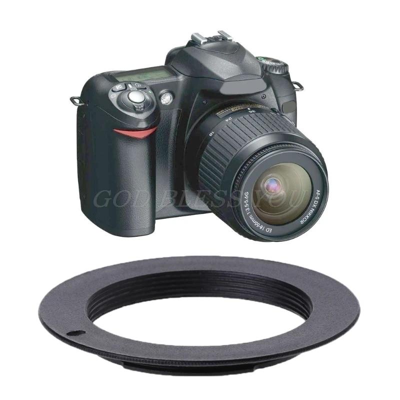 DSLR SLR M42 Lens To Nikon AI F Mount Adapter Ring For Film Cameras Digital