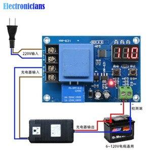 Image 1 - XH M602 цифровой Управление Батарея литий Контроль зарядки аккумулятора Управление модуль Батарея заряда Управление переключатель защиты доска 3,7 120V