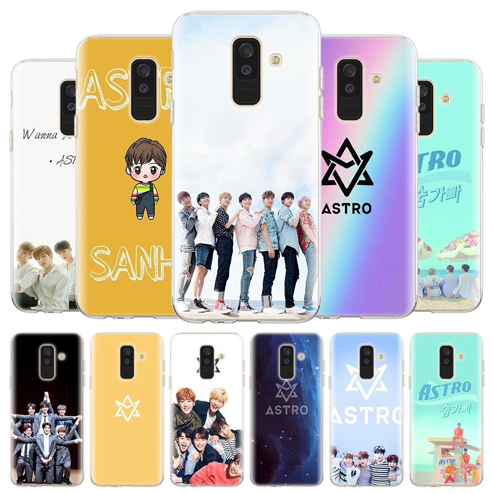 Silicone Case for <font><b>Samsung</b></font> Galaxy A6 A8 <font><b>Plus</b></font> A7 A9 J4 <font><b>J6</b></font> <font><b>Plus</b></font> J8 M10s M20 M30s M40s Cover <font><b>Coque</b></font> Astro <font><b>Kpop</b></font> Music Bank image