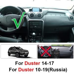 Image 2 - Xukey For Renault Duster Dacia Duster 2014 2015 2016 2017 Car Inner Auto Dashboard Cover Dashmat Pad Carpet Dash Mat Cushion