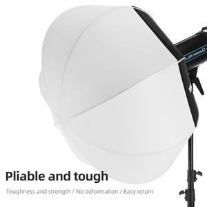 Image 3 - أمبيتفول مصباح سوفت بوكس دائري 80 سنتيمتر 31.5 بوصة ، قابل للطي ، تركيب سريع ، محمول ، لفلاش استوديو Bowens Profoto Elinchrom