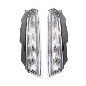Image 2 - 12V DRL Volkswagen VW Scirocco için R 2010 2011 2012 2013 2014 LEDDaytime koşu işık günışığı sis lambası
