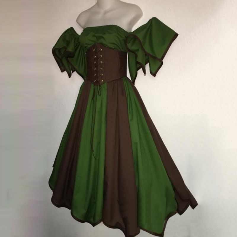 ヨーロッパ中世王女ロリータパーティーイブニングドレスルネッサンス仮装ビクトリア朝ゴシックアニメエルフレトロコスプレ衣装