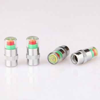 4PCS Auto Tire Air Pressure Valve Indicator Alert For BMW 1 3 4 5 7 Series X1 X3 X4 X5 X6 E60 E90 F15 F30 F35 image