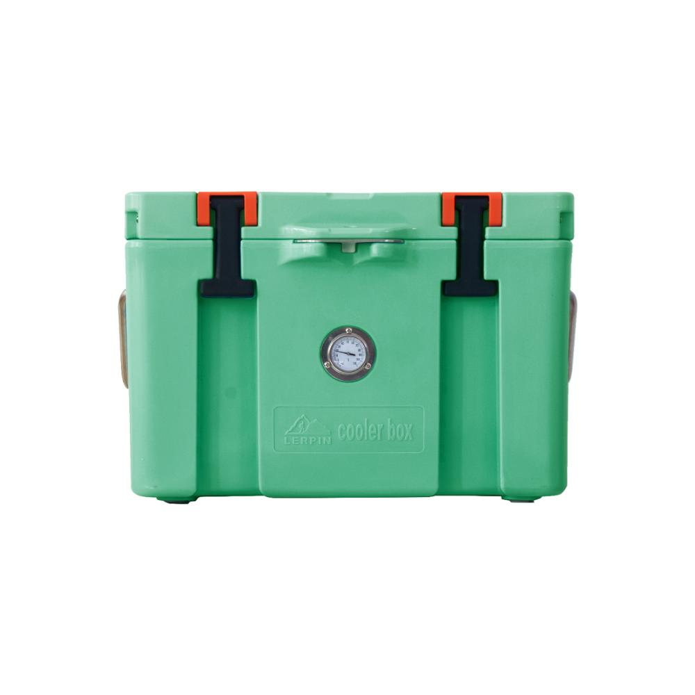 Lerpin 2020 latest  design insulated ice chest roto molded camping cooler box mini fridge-5