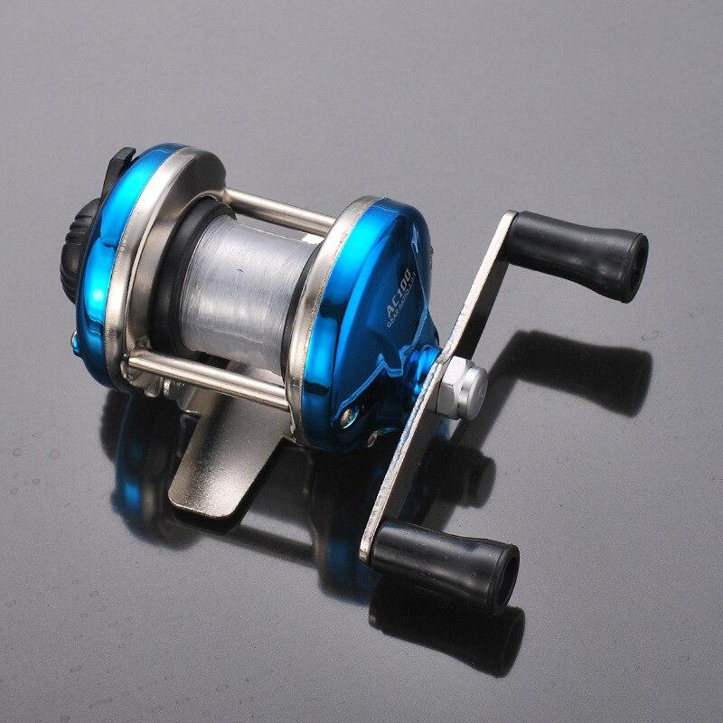 Bolso tesouro mini linha de pesca no gelo roda/TB pequeno tambor/fábrica de roda de engrenagem de pesca equipamentos de pesca do carretel