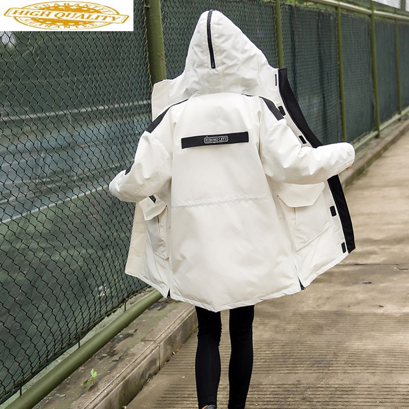 Women's Duck Down Jacket Winter Coat Women Hooded Long Parka Korean Thick Overcoat Down Jackets For Women KJ2698