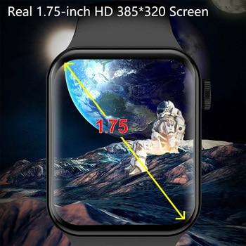 CHYCET IWO Watch 7 Smartwatch Smart Watch Men Women DIY Face Fitness Tracker Watch For Xiaomi Huawei PK DT100 IWO 13 Pro 2021 2