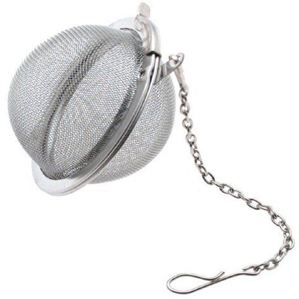 Stainless Steel Teapot Tea Strainer Ball Shape Mesh Tea Infuser Filter Reusable Tea Bag Spice Tea Tool Accessories Drop Shipping