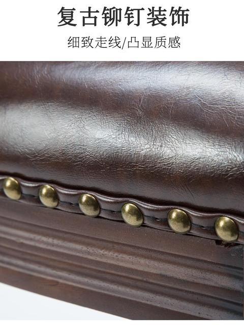 High Backrest Wooden Bar Stool 2