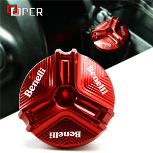 Motorcycle Oil Filler Plug Cover For BENELLI 502C 752S TRK 502 502X 251 BN302 LEONCINO 250/500/TRAIL TNT125 TNT251(China)