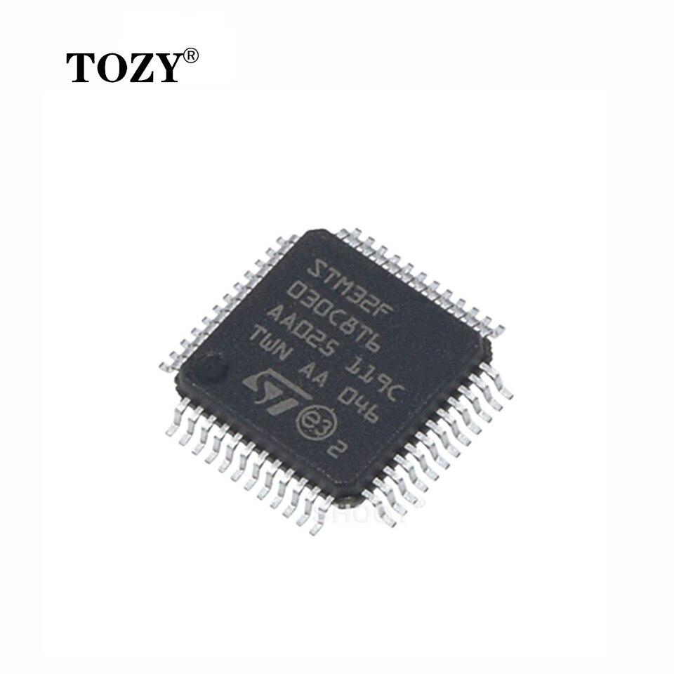 10pcs / lot STM32F030C8T6 STM32F030C8 STM32F030 LQFP-48 microcontroller new original